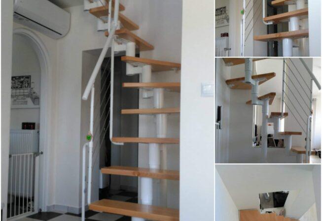 μοντέρνα εσωτερική σκάλα