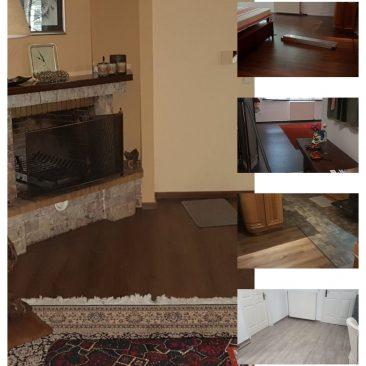 τοποθέτηση Laminate σε οικία στην Παλλήνη